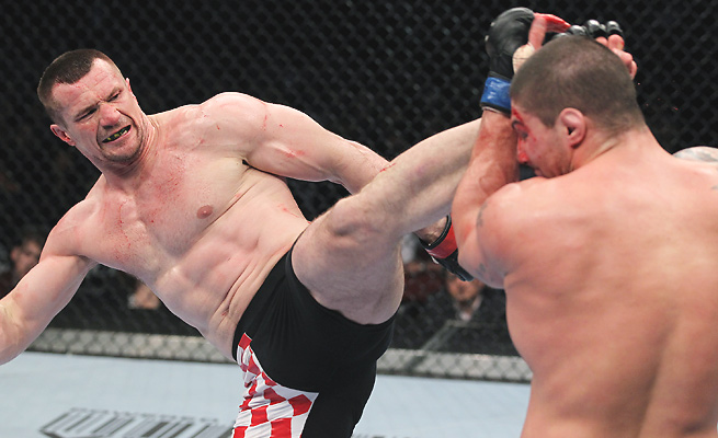 "Born from an interview, ""Right leg, hospital; left leg, cemetery"" neatly described Cro Cop fights."