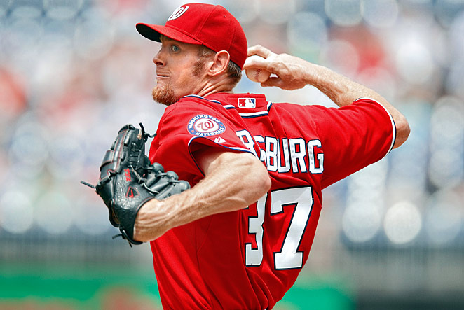 Flame-throwing prodigy Stephen Strasburg lived up to his billing in 2010. In 12 major league starts, the No. 1 overall pick in the 2009 draft had a 2.91 ERA and tallied 92 strikeouts in only 68 innings. But in a start in late August against the Phillies, Strasburg was abruptly removed with a serious elbow injury that required Tommy John surgery in September. He sat out nearly the entire 2011 season before returning strong, finishing 15-6 but somewhat controversially shut down before Washington's appearance in the 2012 postseason.