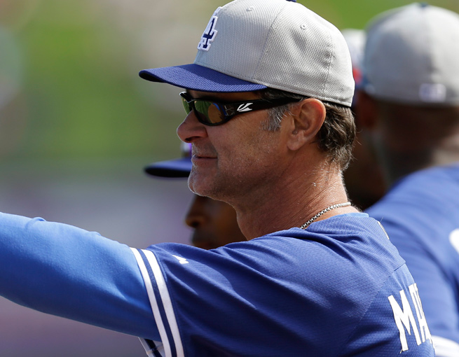 Don Mattingly and the Dodgers won't have expanded replay available vs. Arizona in Australia.