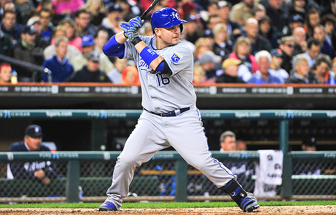 Billy Butler played in all 162 games for the Royals last season, hitting .289/.374/.412.