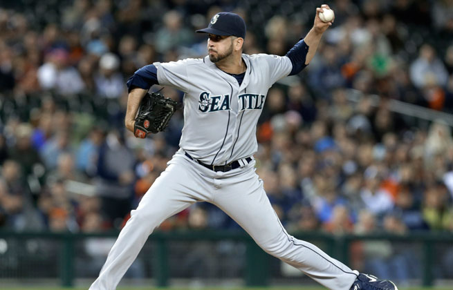 Oliver Perez pitched for the Seattle Mariners the last two seasons.