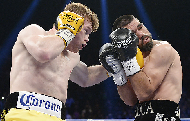 Canelo Alvarez needed 10 rounds but emerged victorious in his welterweight bout vs. Alfredo Angulo.