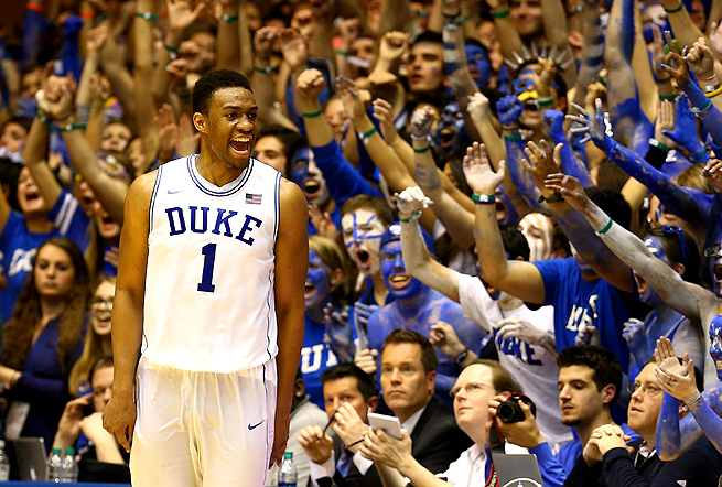 Duke Basketball Jabari Parker Shooting