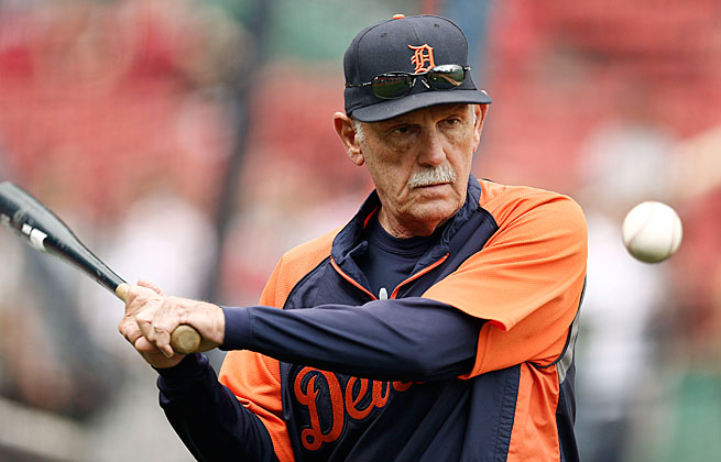 Jim Leyland won over many in the media with his insights and emotional connection to players.