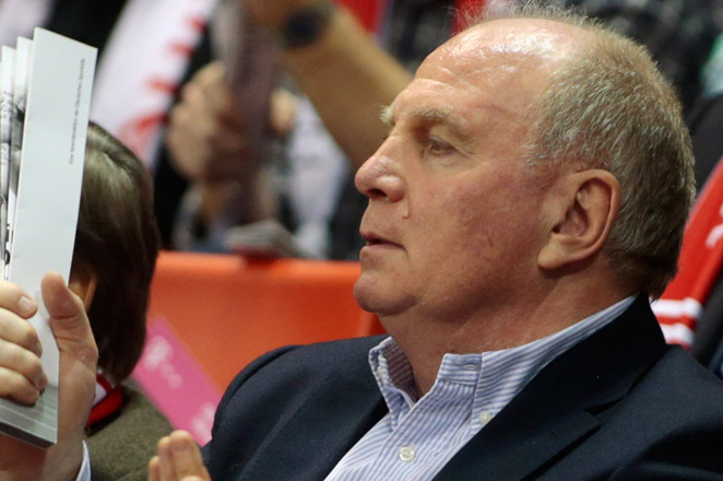 Munich daily Sueddeutsche Zeitung reported last month that prosecutors believe Hoeness dodged paying up to $4.9 million in taxes.