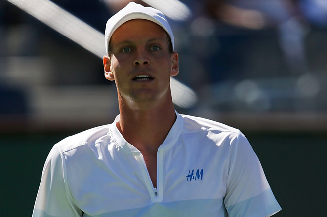 Before falling to Spain's Roberto Bautista Agut, Berdych had won 11 matches in a row in February and is 16-4 this year.