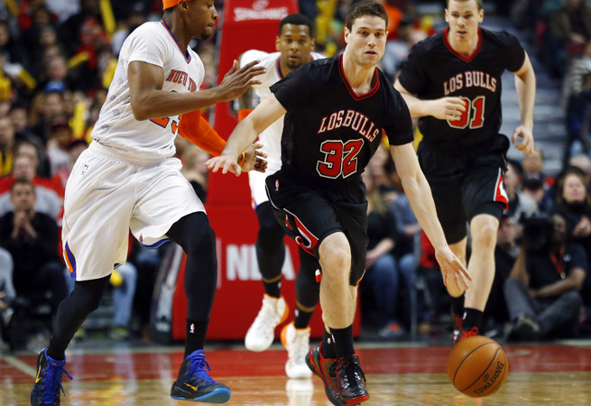 After struggling to establish himself in Sacramento, guard Jimmer Fredette eyes a role in Chicago.