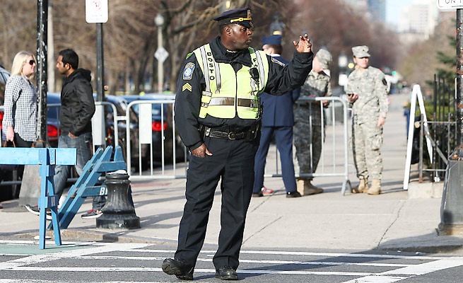 Enhanced security for the 2014 Boston Marathon will include more than 3,500 police officers.