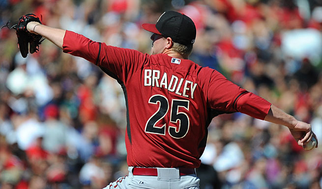 Archie Bradley, 21, was the seventh-overall pick in the 2011 draft and could break camp with Arizona.