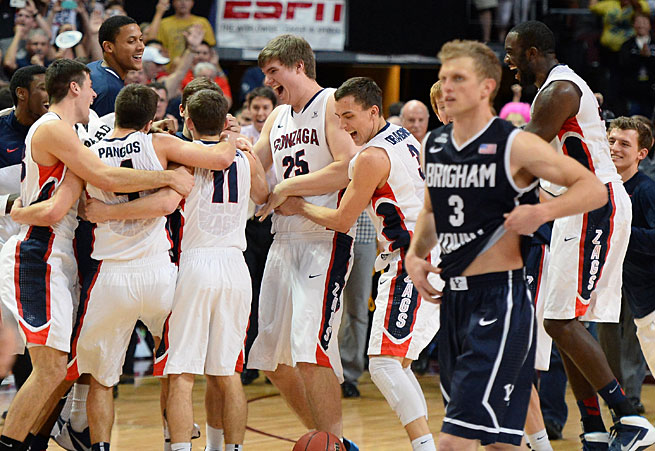 The Zags won the West Coast tournament for the 12th time in 16 years, forcing Tyler Haws and BYU to sweat out Selection Sunday.