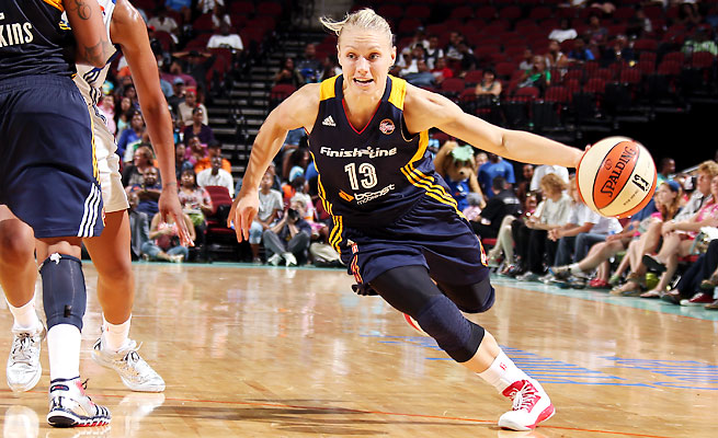 Knee issues limited Erin Phillips, 28, to just 18 games last season, her third with the Fever.
