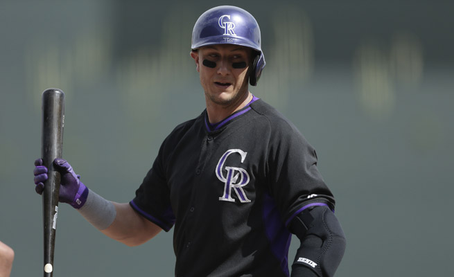 Troy Tulowitzki has been plagued by injuries during his eight-year MLB career, all with the Colorado Rockies.