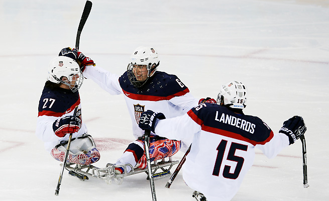 The U.S. sled hockey team will attempt to do what neither Olympic team could do -- win gold in Sochi.