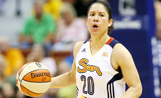 Kara Lawson posted solid stats in an injury-shortened 2013 season, averaging 13.8 points per game.