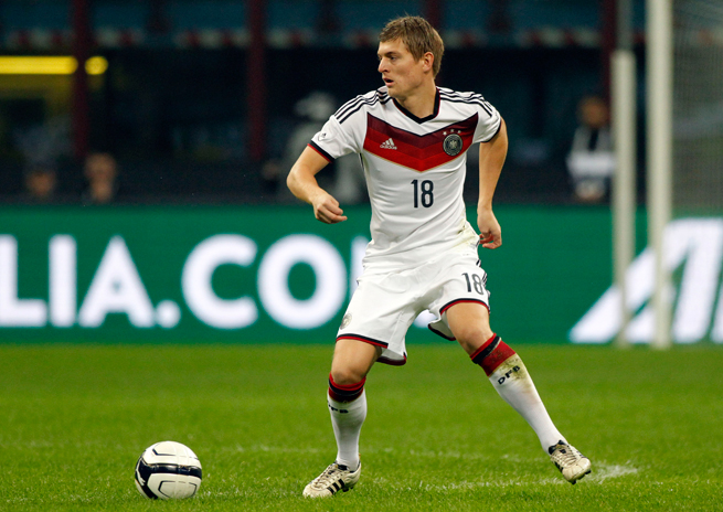 Germany midfielder Toni Kroos has taken his game to new heights at Bayern Munich under Pep Guardiola.