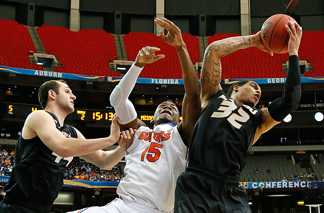 Jabari Brown and the Tigers had to beat Florida to make the NCAA tournament but couldn't get it done.
