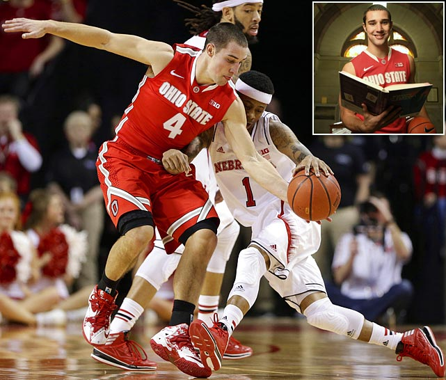 """Aaron Craft became famous for his stingy defense, and Luke Winn's Craftometer. He's a model teammate and roommate. (His roommates say he can """"do no wrong."""")"""