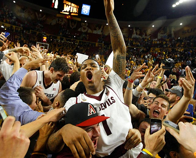 """Referred to as """"Jahiisu,"""" or, the savior of Arizona State basketball, Jahii Carson will increase his popularity if he can guide the Sun Devils to the Final Four."""
