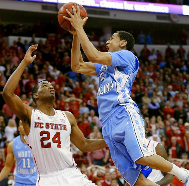 How could Marcus Paige not be popular? He had a go-ahead layup against Duke in the teams' first matchup that secured the upset, and he had a game-winning layup against in-state rival North Carolina State.