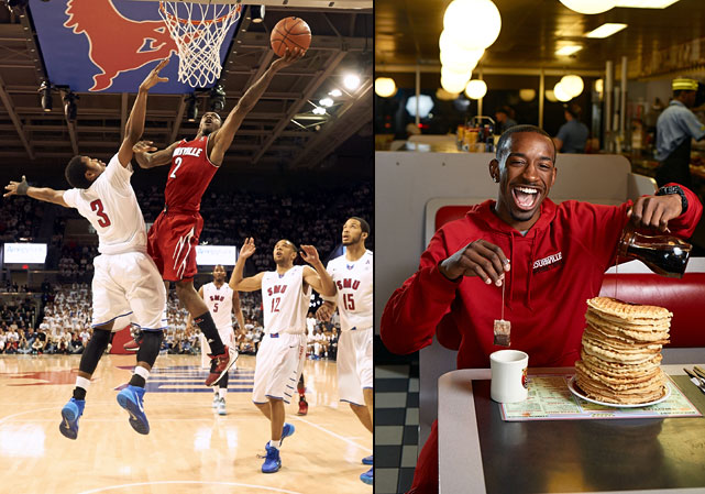 You don't earn the nickname Russdiculous for no reason. Russ Smith has been commemorated in posters, videos and Internet memes because of his prolific scoring and fun-loving nature.