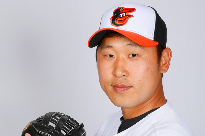 The 27-year-old South Korean pitcher Suk-min Yoon agreed to a $5.75 million, three-year contract with the Orioles in mid-February.