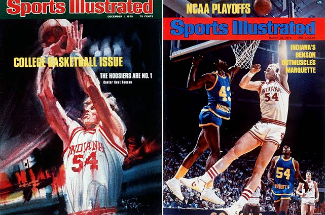 1940 -- Def. Kansas, 60-42 1953 -- Def. Kansas, 69-68 1976 -- Def. Michigan, 86-68 1981 -- Def. North Carolina, 63-50 1987 -- Def. Syracuse, 74-73