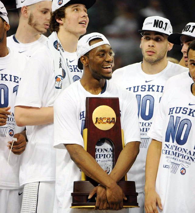 1999 -- Def. Duke, 77-74 2004 -- Def. Georgia Tech, 82-73 2011 -- Def. Butler, 53-41
