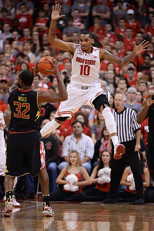 Leading Scorer: Laquinton Ross (15.4 ppg., pictured) Leading Rebounder: Laquinton Ross (6.1 rpg.) Leading Passer: Aaron Craft (4.7 apg.) Bad Losses: Penn State (twice), @ Indiana Good Wins: @ Wisconsin, @ Iowa, Michigan State