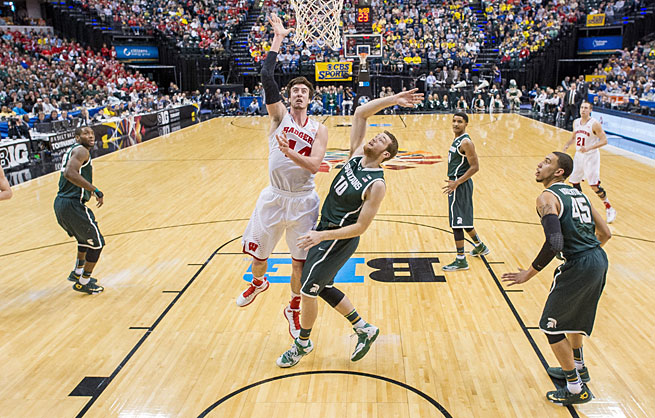 When Frank Kaminsky is operating in the paint, Wisconsin looks like a Final Four threat.