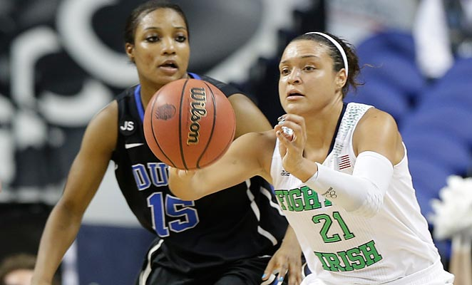 Kayla McBride's versatility will make her a valuable performer for Notre Dame in the NCAA Tournament.