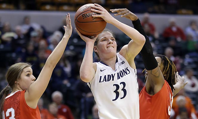Penn State's Maggie Lucas is one of the best pure scorers in women's college basketball.