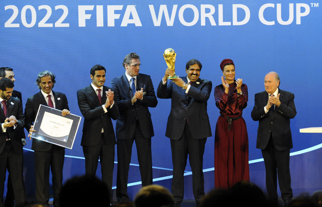 The Qatar World Cup organizing committee claims no wrongdoing in its bid to host the 2022 competition.