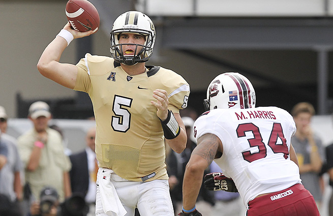 UCF QB Blake Bortles has the size and pocket-passing skills NFL teams covet these days.