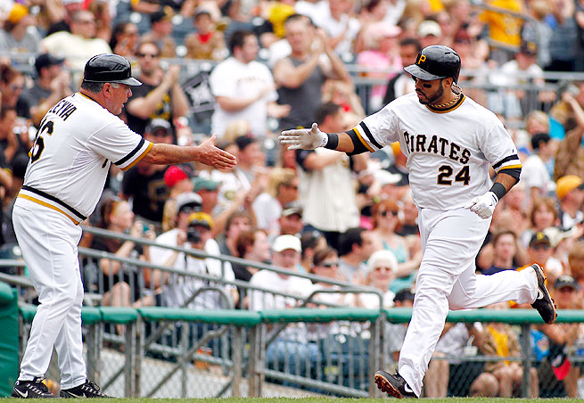Pedro Alvarez mashed 36 home runs for the Pirates in 2013 and is still coming into his own as a player.