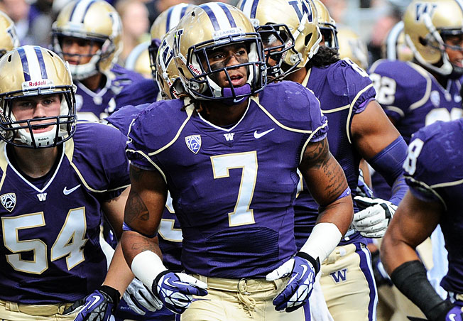 Already a standout linebacker, Shaq Thompson (7) could play some running back for Washington in '14.