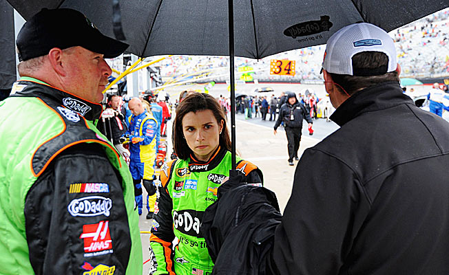 Danica Patrick is determined to show her critics that she belongs on the Sprint Cup circuit.