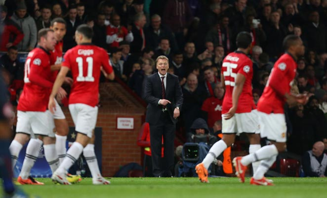 Manchester United's turnaround against Olympiakos will ease the pressure on manager David Moyes.