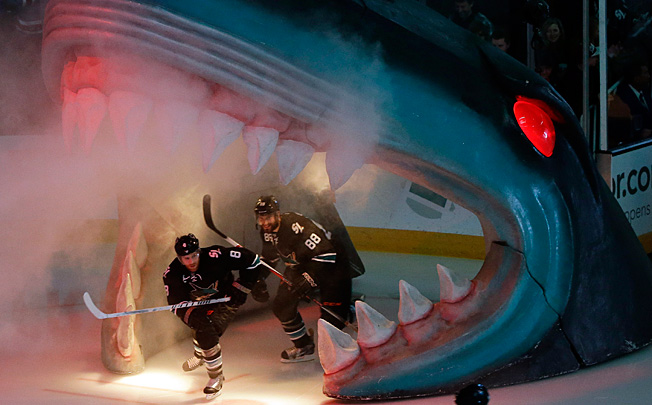 The surprising San Jose Sharks have been especially dangerous in the Shark Tank this season.