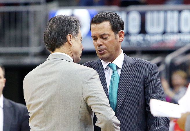 Steve Masiello served as Rick Pitino's assistant for six years before being hired by Manhattan in 2011.