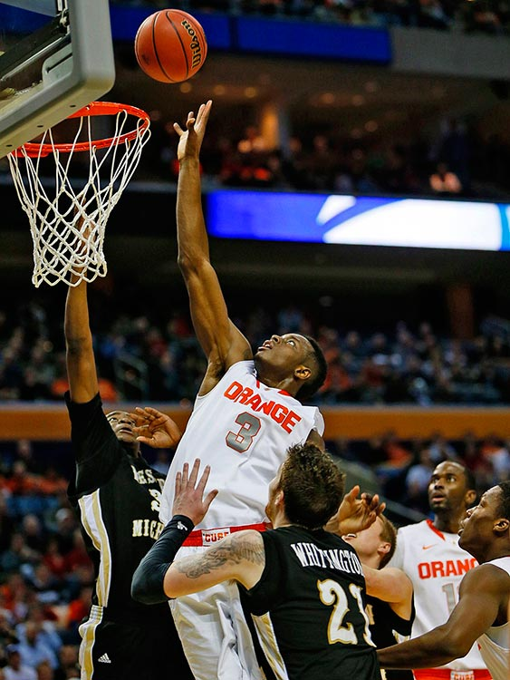 Jerami Grant and the Orange were too long and too athletic for Western Michigan.