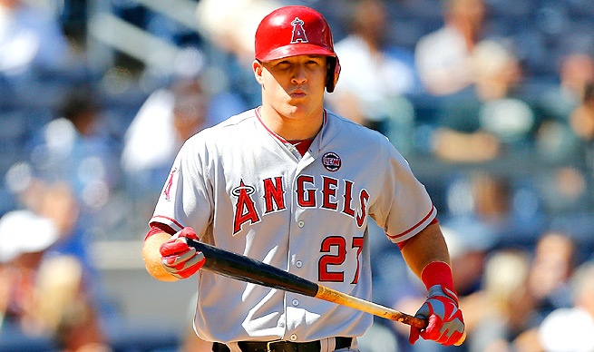 Mike Trout is more than ready for the 2014 fantasy baseball season to start. Are you?