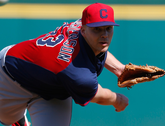 Justin Masterson has spent his last four-and-a-half seasons with the Indians.