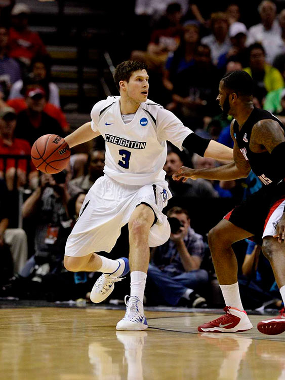 Doug McDermott scored 30 points in Creighton's win over No. 14 Louisiana-Lafayette. He has now scored at least 30 in four of his team's last five games.
