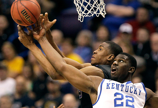 Alex Poythress and the Kentucky frontcourt will face their toughest rebounding battles of the year against Wichita State.