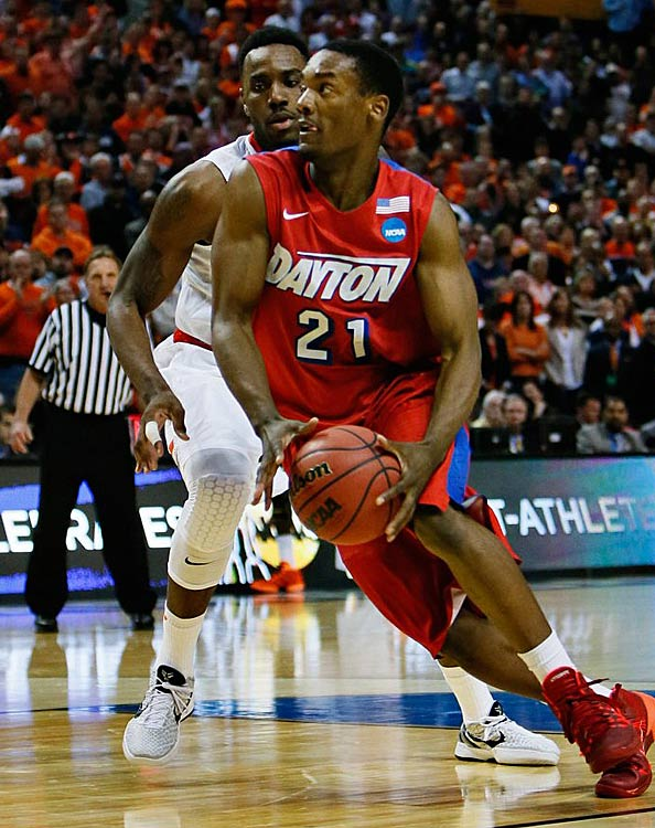 Dyshawn Pierce scored 14 points for Dayton, including three key free throws down the stretch.