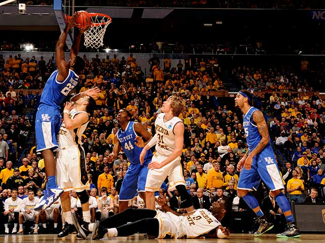 Alex Poythress and Kentucky were successful early using their superior size. The game was a back-and-forth prizefight in the latter stages, neither team leading by more than five, each answering the other with clutch 3-pointers and pressure-filled free throws.