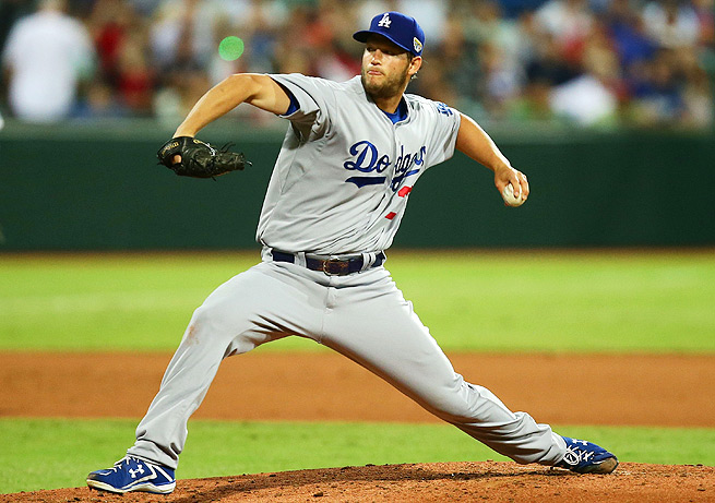 Clayton Kershaw gave up just one run over 6.2 innings and tossed seven K's in the opener Down Under.