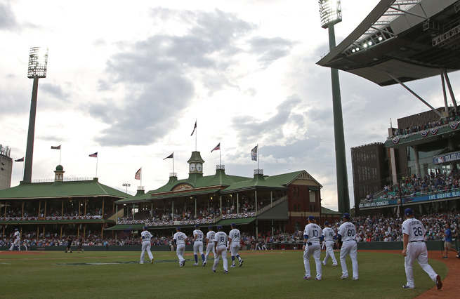 Sydney Cricket Ground played host to two games between Los Angeles and Arizona in Australia.