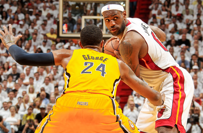 LeBron James and the Heat's three-peat hopes are facing some adversity, going 5-7 mark since Mar. 4.
