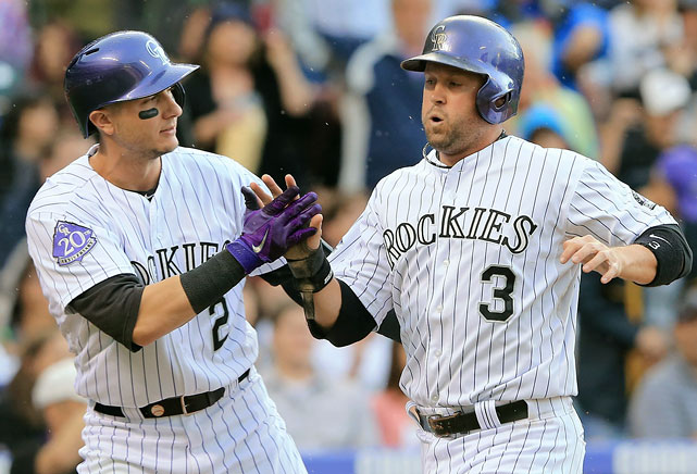 <underline>Highest salaries</underline>: Troy Tulowitzki $16,000,000 Michael Cuddyer $11,500,000